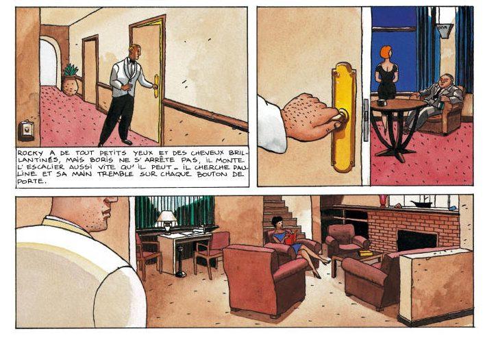 Barney et la note bleue - Paringaux - Loustal - 30eme anniversaire - hotel
