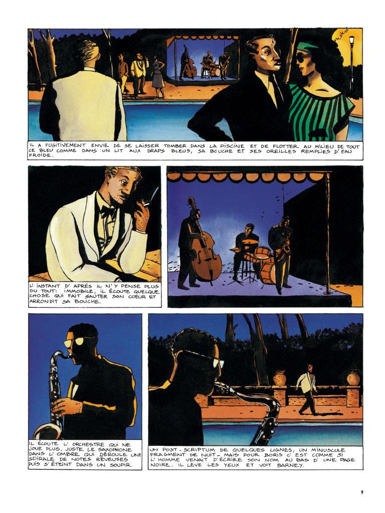 Barney et la note bleue - Paringaux - Loustal - 30eme anniversaire - nuit