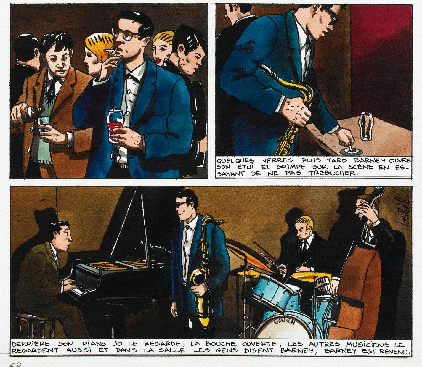 Blackdog - Loustal - Gotting - concert