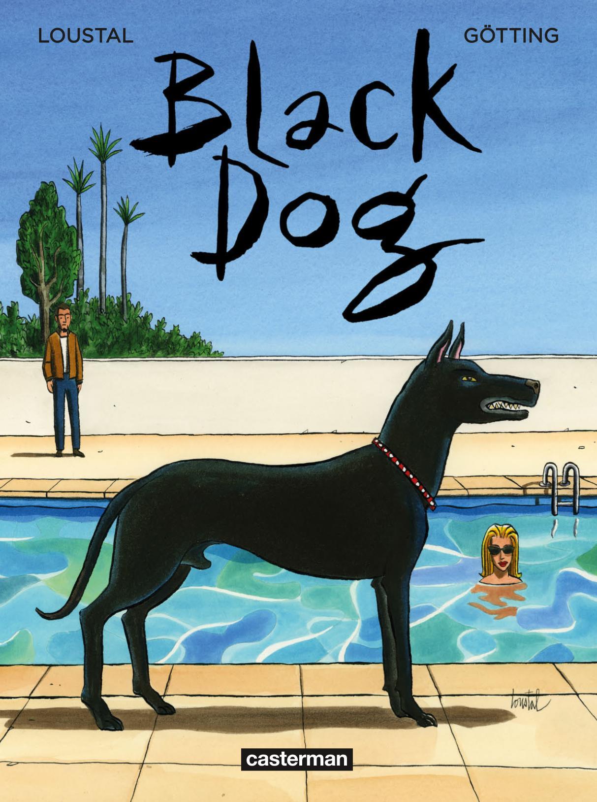 Blackdog - Loustal - Gotting - couverture