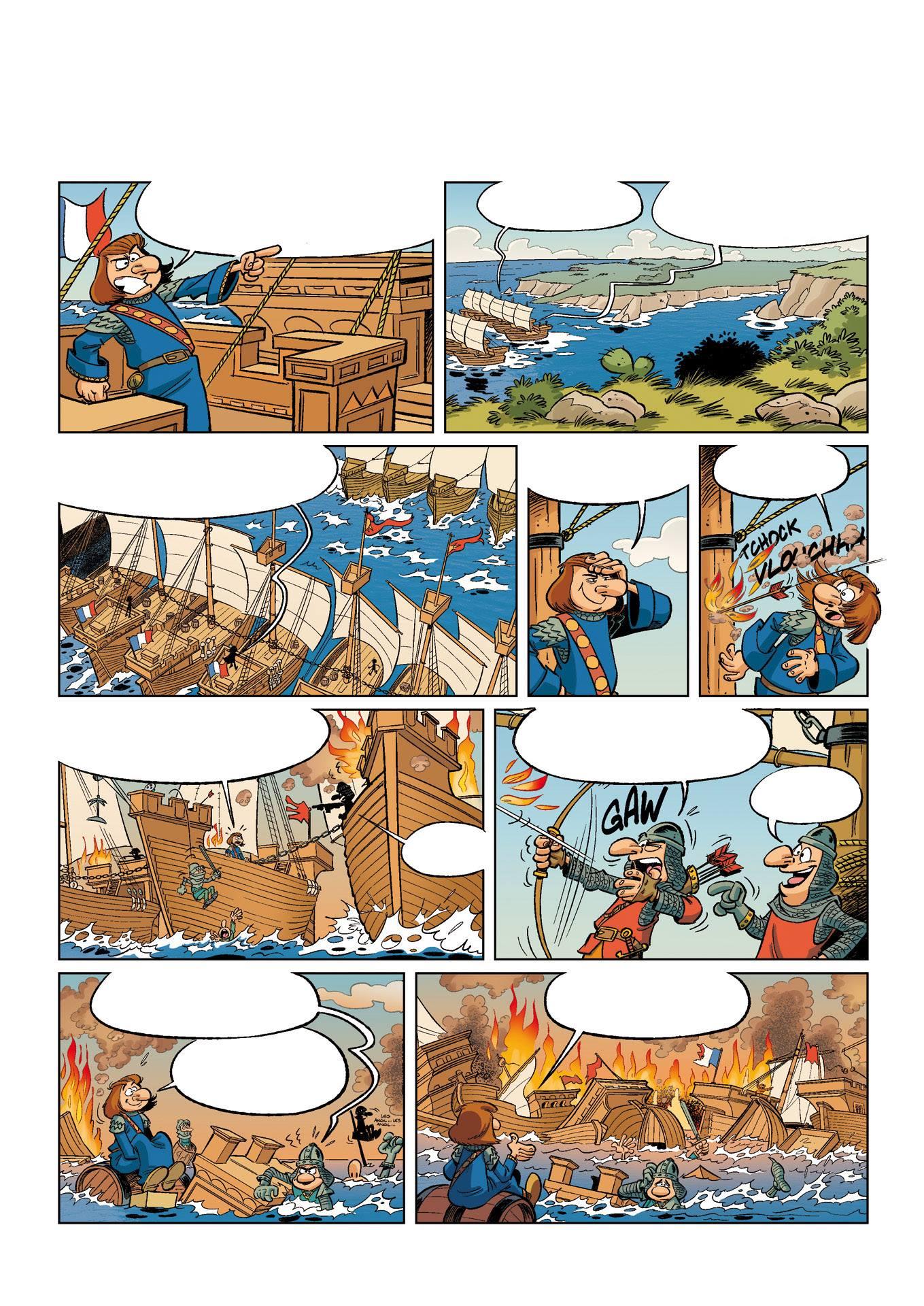 La guerre de cent ans - cazenove - richez - peral - bataille navale