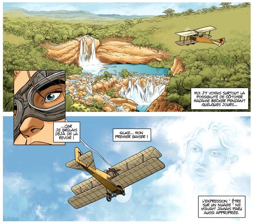 L'aviateur - Kraehn - Arnoux - Millien - Tome 1 - L'envol - Savane