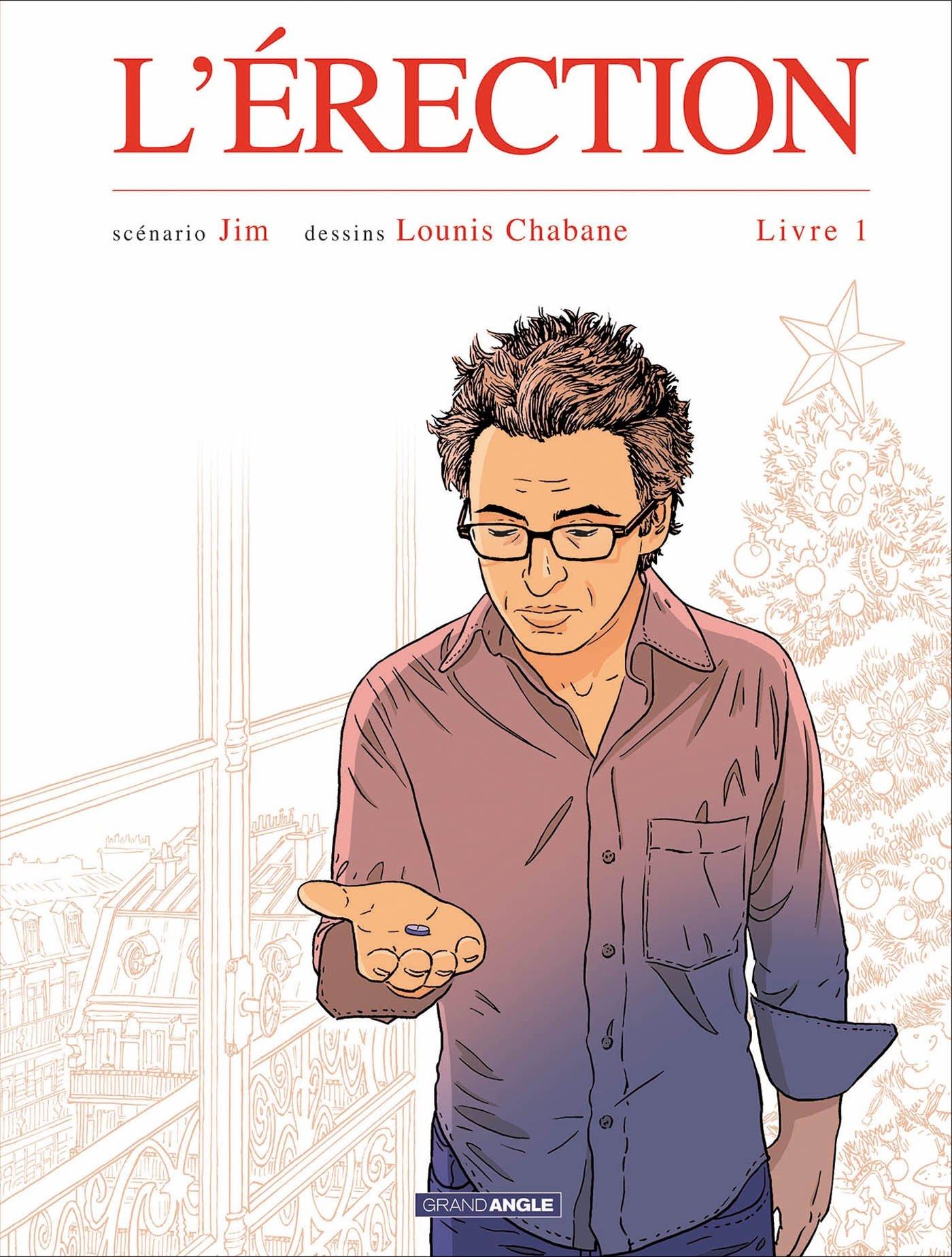 L'érection - Livre 1 - Jim - Chabane - Couverture