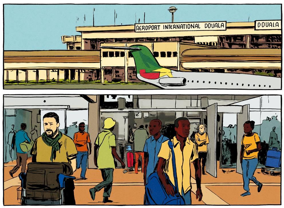 Le contrepied de Foe - Galandon - Vidal - aeroport