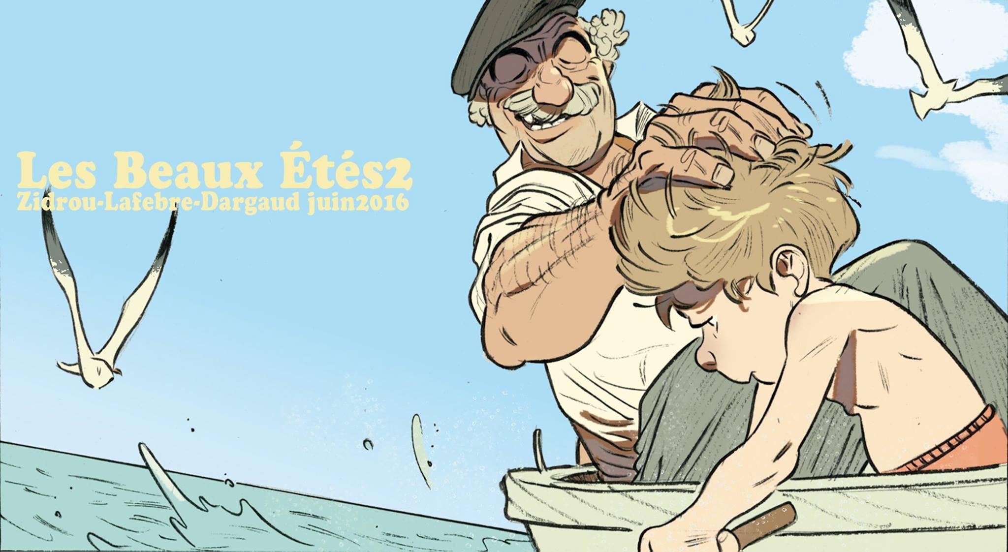 Les beaux etes - Tome 2 - La Calanque - Zidrou - Lafebre - barque