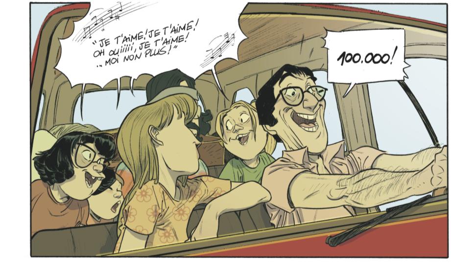 Les beaux etes - Tome 2 - La Calanque - Zidrou - Lafebre - Gainsbourg