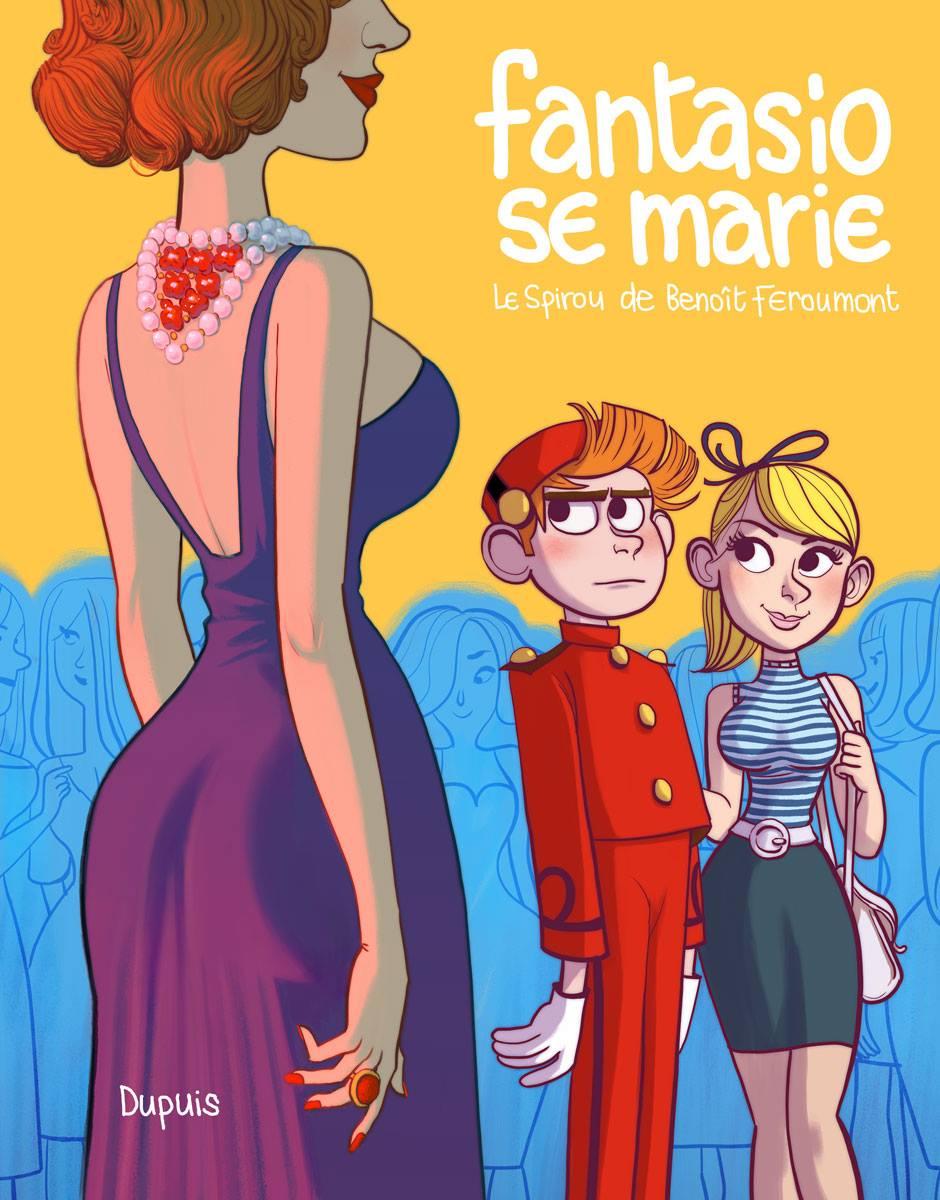 Spirou - Fantasio se marie - Benoit Feroumont - Couverture provisoire