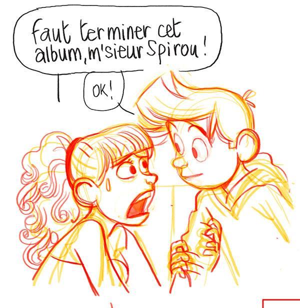 Spirou - Fantasio se marie - Benoit Feroumont - fin album