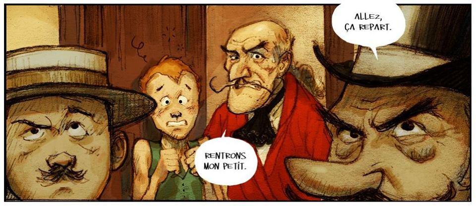 Tout conte fée - Camou - Bandini - Peter pan et Grochet