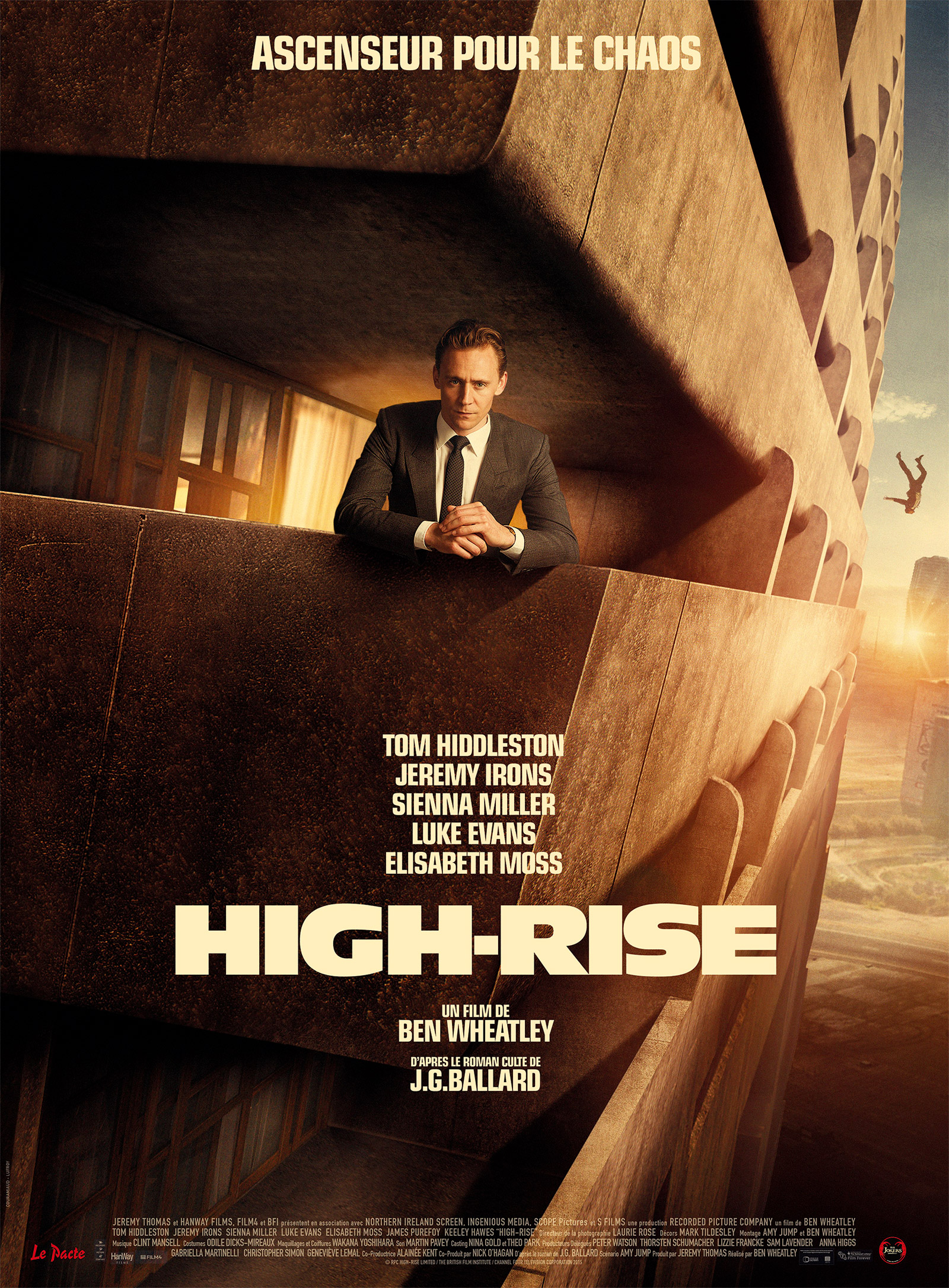 critique High Rise - Wes Bentley - Tom Hiddleston