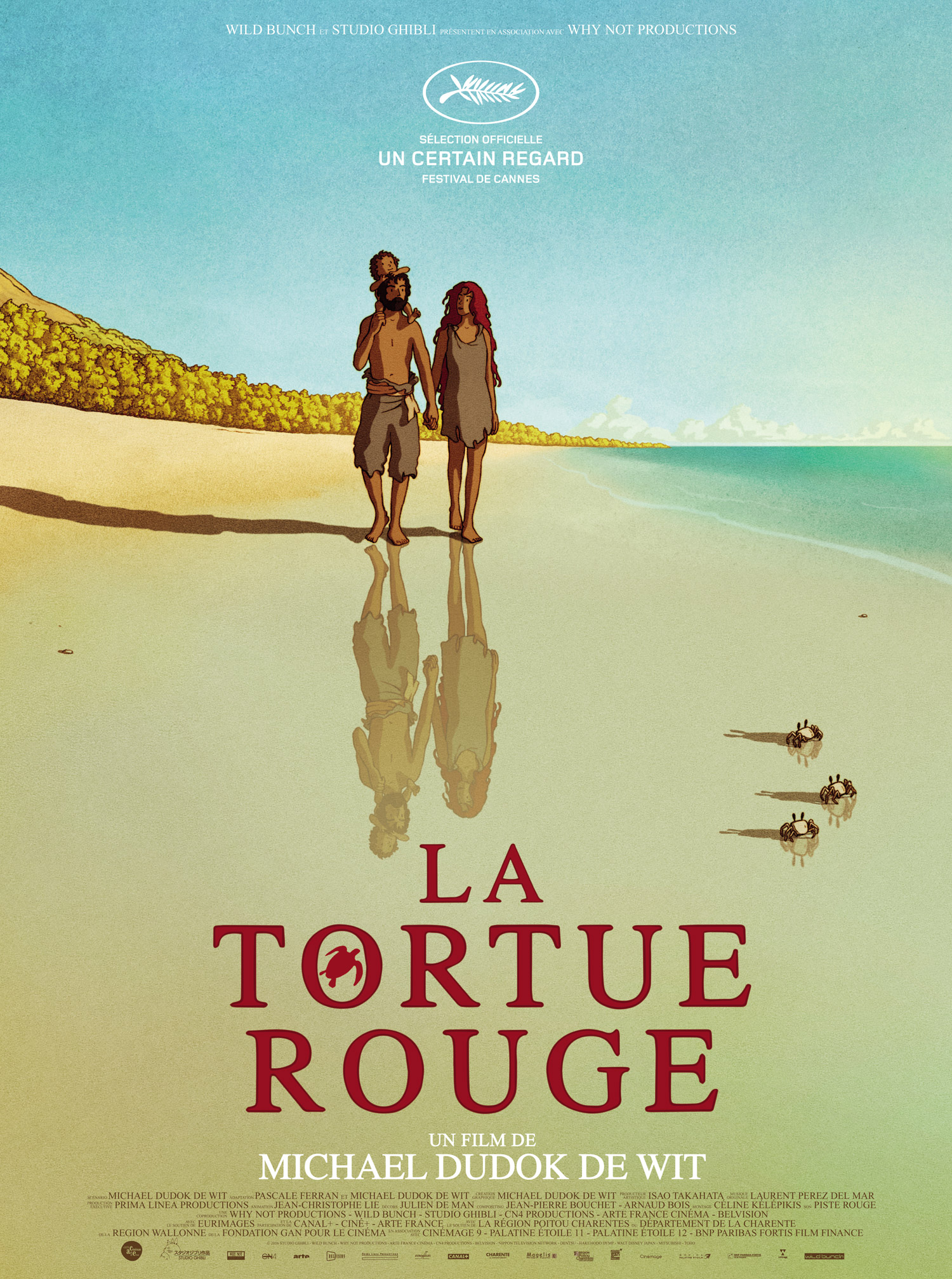 critique La tortue rouge