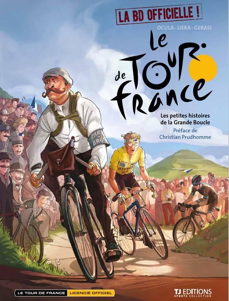 Le tour de France - Ocula - Liera - Gerasi - Couverture