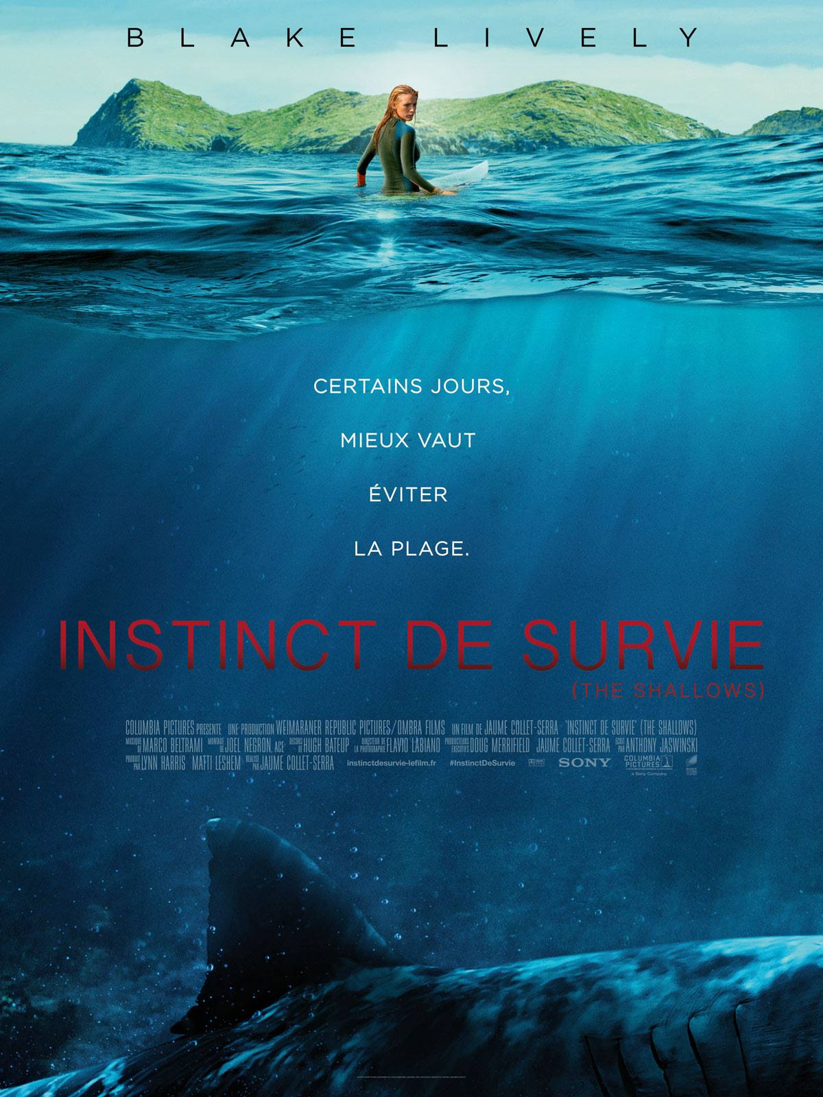 Instinct de survie - Critique - Collet-Serra - Blake Lively