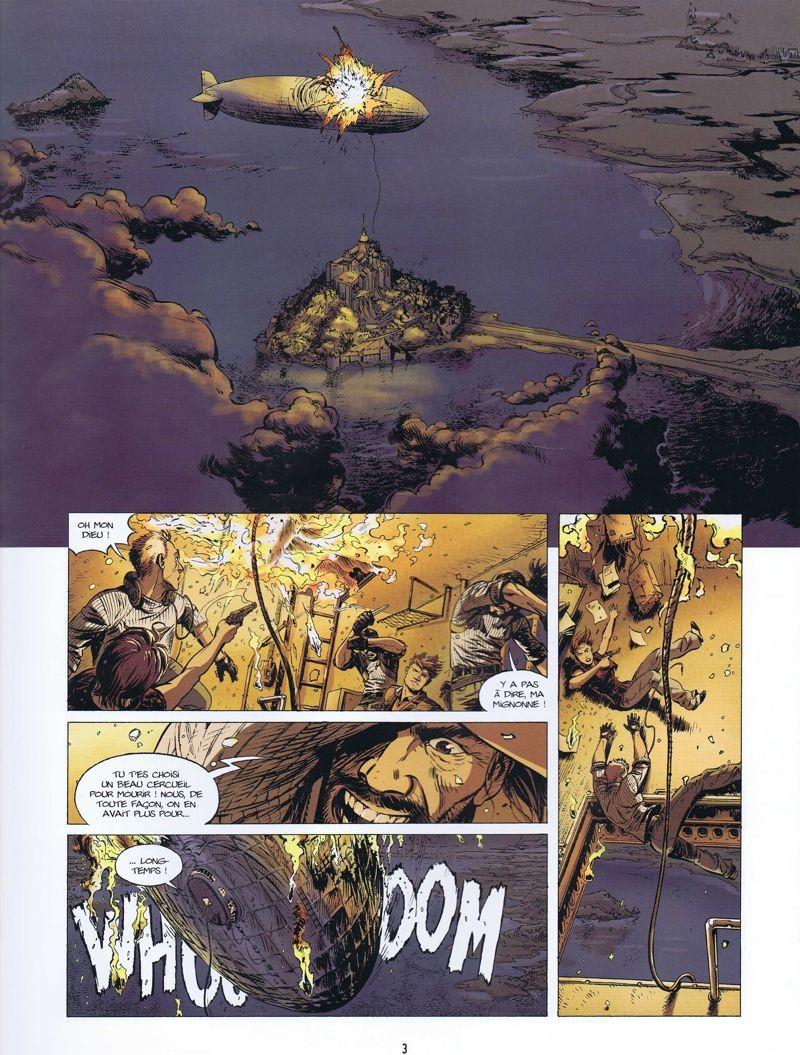 L'heritage du diable - t.4 - Apocalypse - Jerome Felix - Paul Gastine - explosion zeppelin