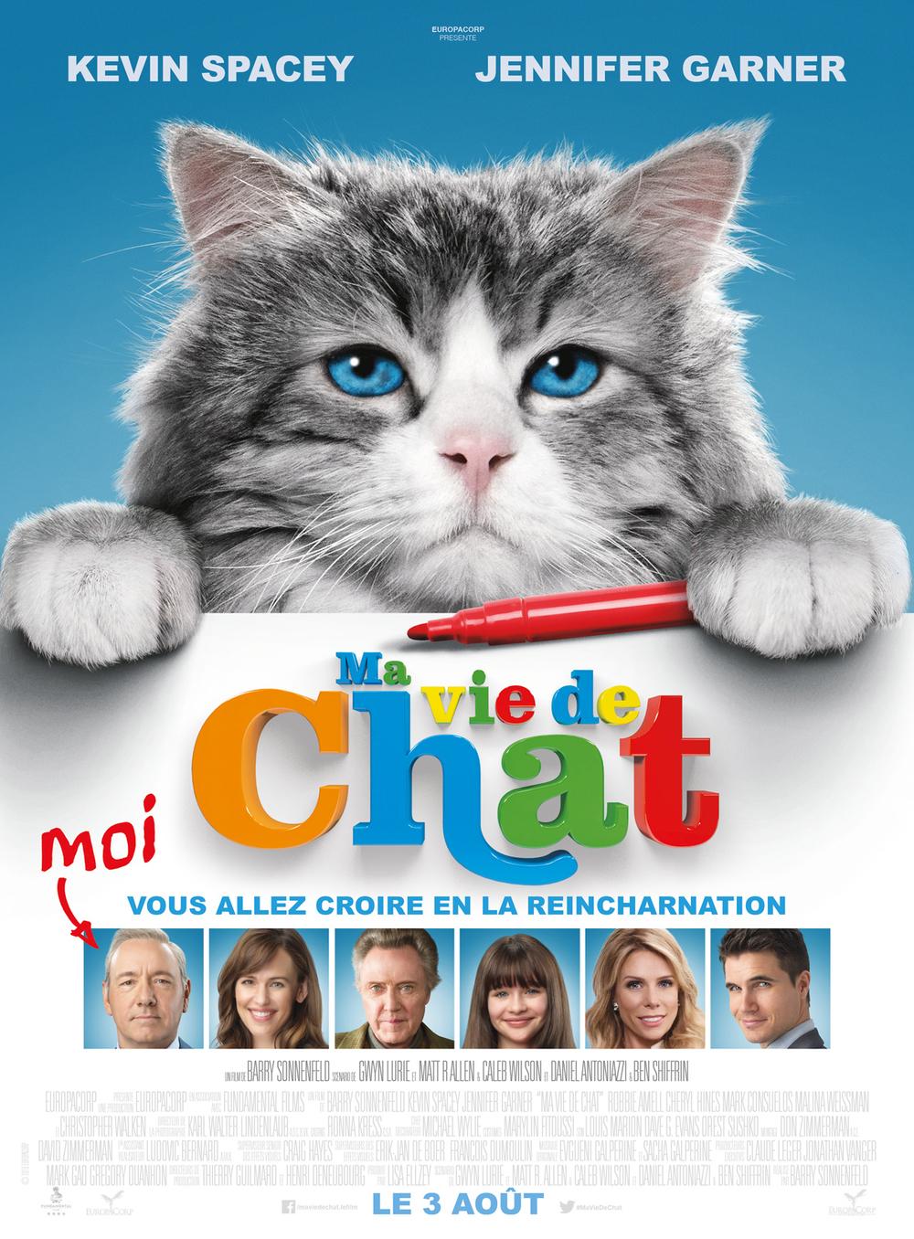 Ma vie de chat - Barry Sonnenfeld - Kevin Spacey - Jennifer Garner