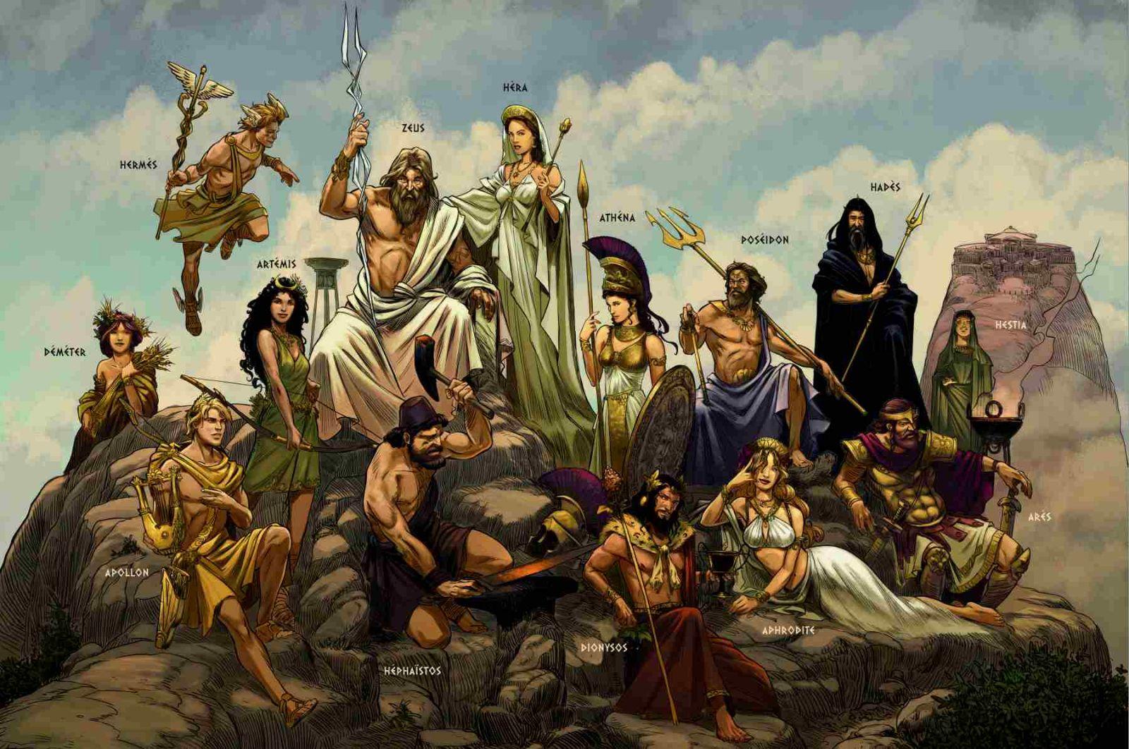 glenat-la-sagesse-des-mythes-luc-ferry-bd-antiquite-grecque-personnages