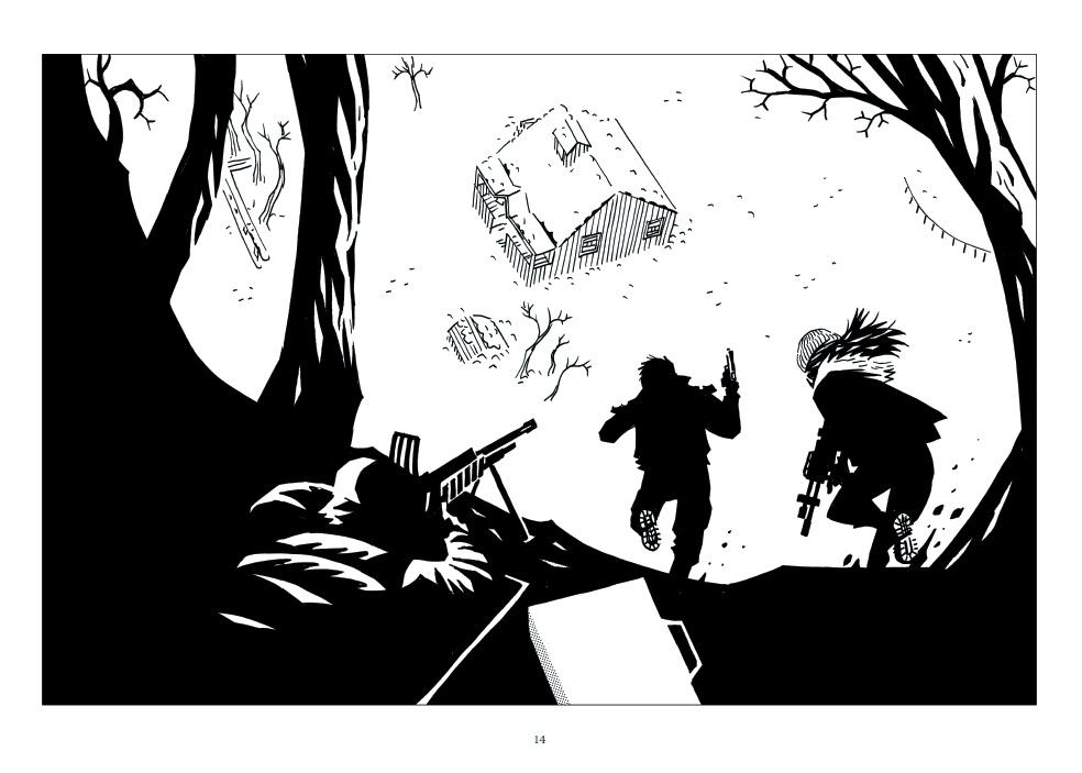 ©Santos chez Glénat Comics