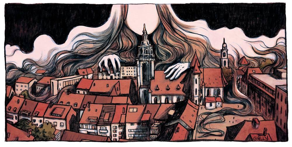 Les fantômes d'Heilbronn ©Gally chez Delcourt