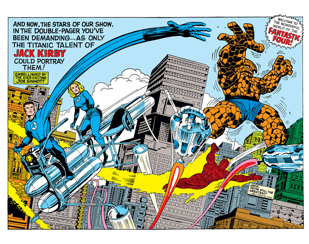 jack-kirby-double-planche-fantastic-four