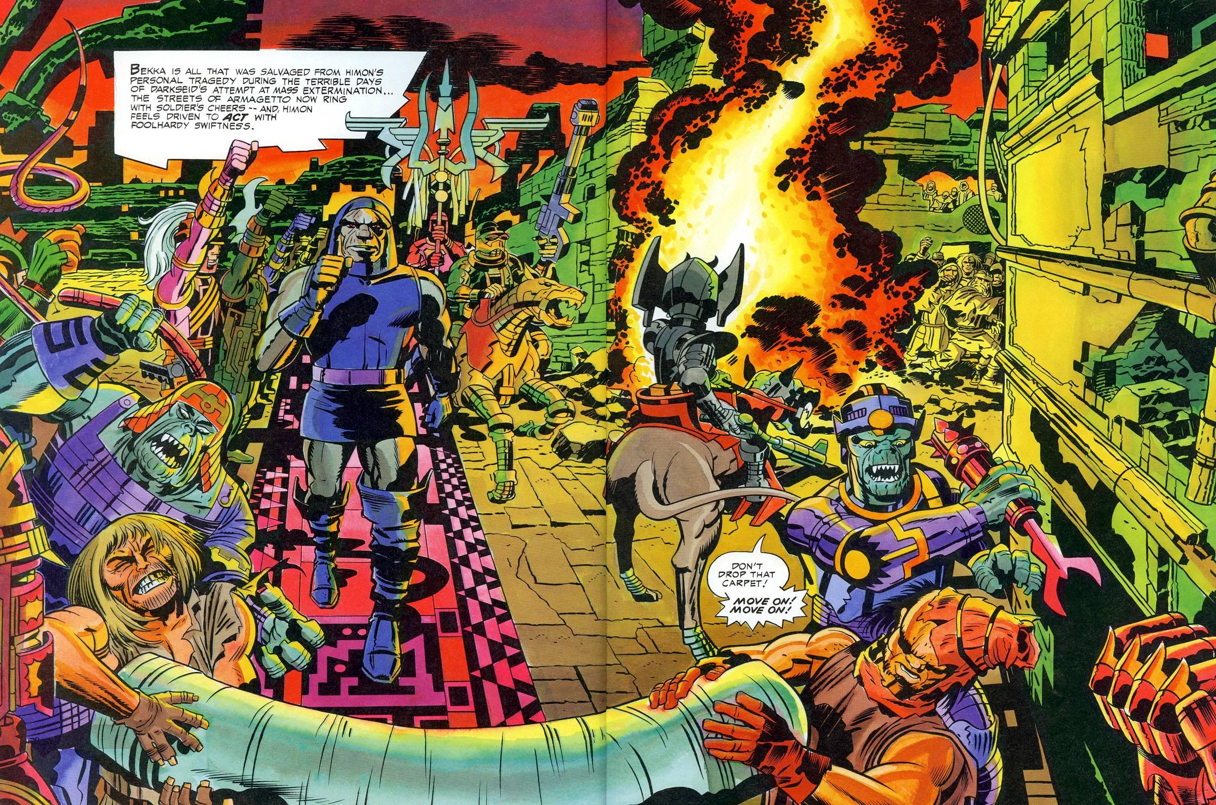 Les New Gods par Jack Kirby