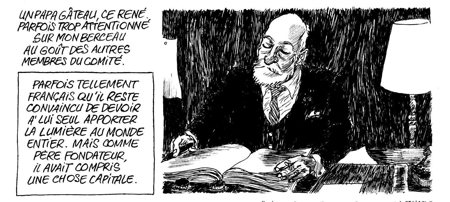 René Cassin © De Smet/Bouüaert