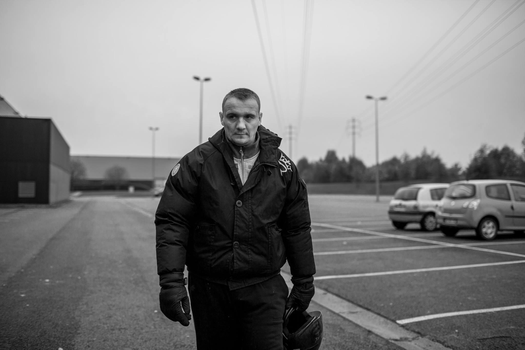 Patrick, 30 ans, habitant d'Hénin-Beaumont © Vincent Jarousseau