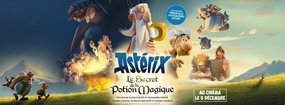 Ast U00e9rix Et Le Secret De La Potion Magique  U2013 Dessin Anim U00e9