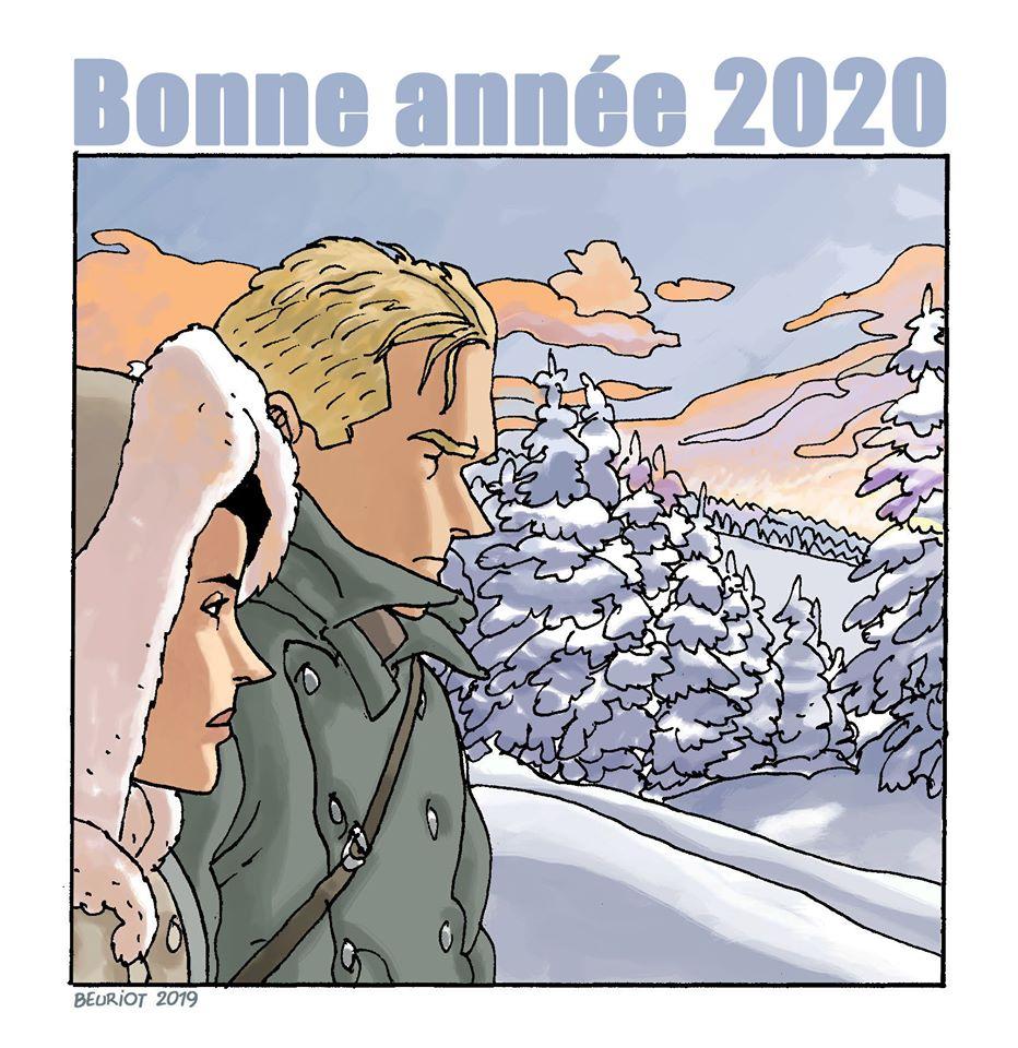 """Résultat de recherche d'images pour """"dessins bd bonne année 2020"""""""