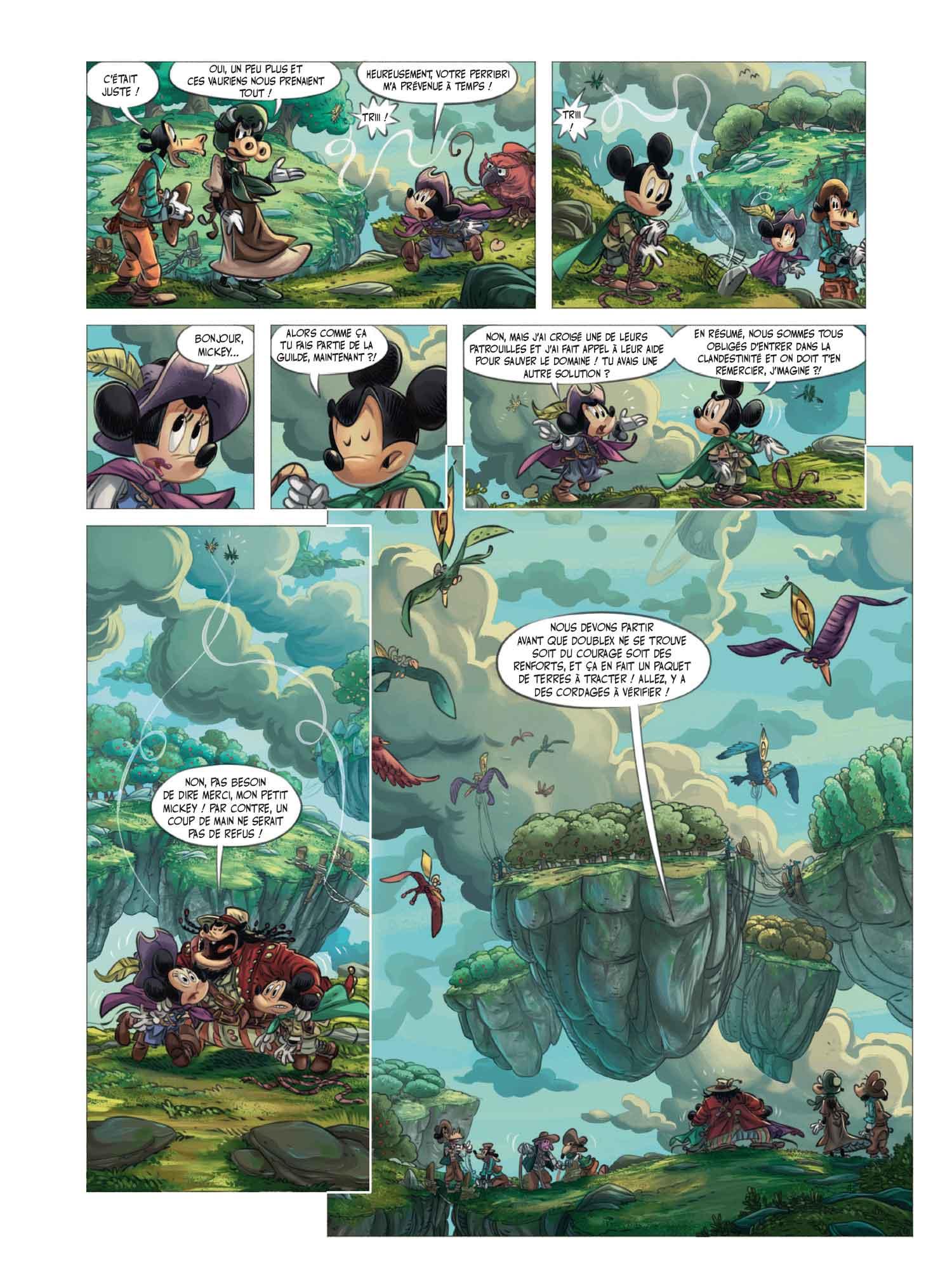 Mickey & la terre des anciens: tremblement de terre et d'air dans un monde  de Disney marié au Seigneur des Anneaux – Branchés Culture